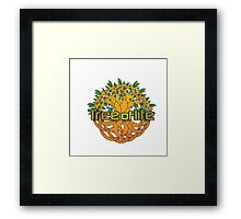 Tree of life T-shirt Framed Print