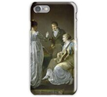 Moritz, Louis - De Muziekles -  The Music Lesson.  iPhone Case/Skin