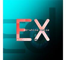 D-White Noise - Excelsior ep - Merch Photographic Print