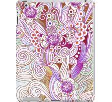 Flower fire, purple iPad Case/Skin