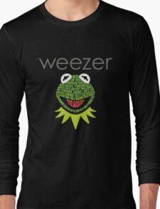 Weezer Muppets Long Sleeve T-Shirt