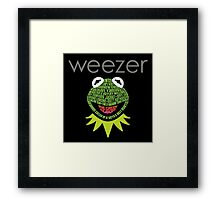 Weezer Muppets Framed Print