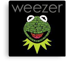Weezer Muppets Canvas Print