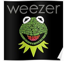 Weezer Muppets Poster