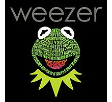 Weezer Muppets Photographic Print