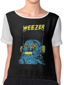 Weezer Robot Chiffon Top