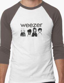 Weezer Doodles Men's Baseball ¾ T-Shirt