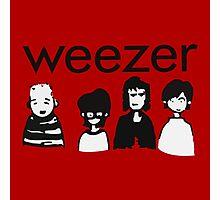 Weezer Doodles Photographic Print