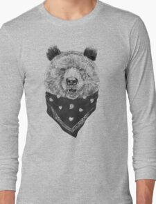 Wild bear Long Sleeve T-Shirt