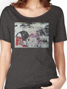 a glimpse into the urban time capsule - Anne Winkler Women's Relaxed Fit T-Shirt