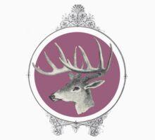 Victorian Deer One Piece - Short Sleeve