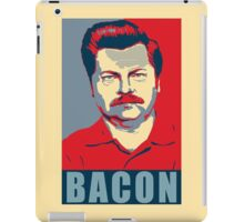 Ron hope swanson  iPad Case/Skin