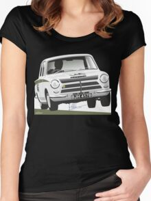 Jim Clark's Ford Cortina Lotus 1964 Women's Fitted Scoop T-Shirt
