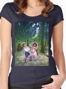 JACK AND JILL Women's Fitted Scoop T-Shirt