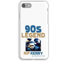 RIP KENNY GREENE (INTRO) iPhone Case/Skin
