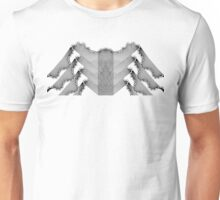 Butterfly Brick Wall Design Unisex T-Shirt