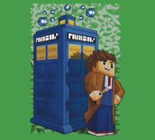 Time traveller in 8bit world Kids Tee