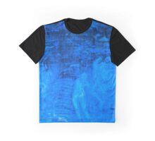 In liquid Indigo Graphic T-Shirt