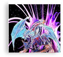 triple dragon threat Canvas Print