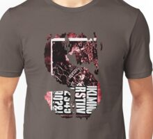 S Stencil (red industrial texture) Unisex T-Shirt