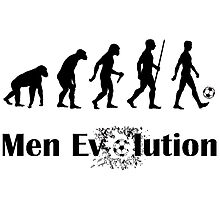 Men Evolution part.2  Photographic Print