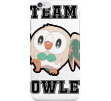Team Rowlet iPhone Case/Skin