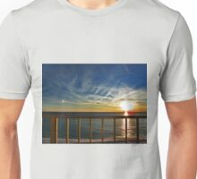 Sunset On The Balcony Unisex T-Shirt