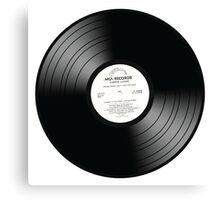 VINYL | VINILO | CD | DVD Canvas Print