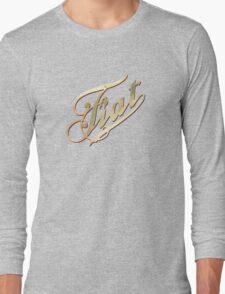 Vintage Fiat Long Sleeve T-Shirt