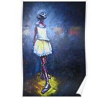 Little Dancer (after Degas) Poster