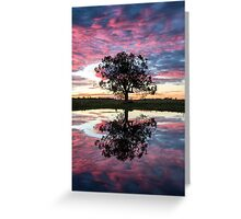 Mirror tree Greeting Card
