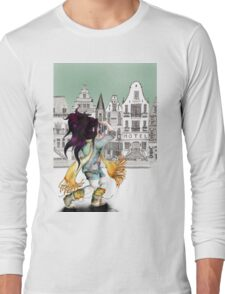 Viola is enjoying beautiful places in the city... Long Sleeve T-Shirt