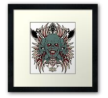 Scary Framed Print