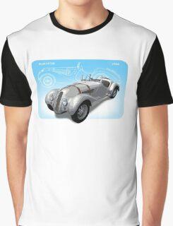 1936 Vintage BMW 328 Roadster Graphic T-Shirt