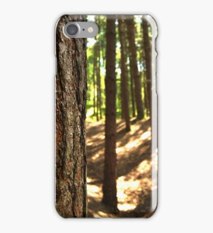 Tree bark forest iPhone Case/Skin