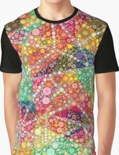 Acid Chemtrail Bubbles Graphic T-Shirt