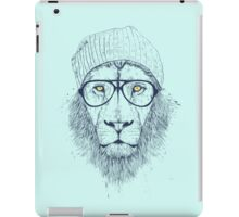 Cool lion iPad Case/Skin
