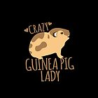 Crazy Guinea Pig Lady by jazzydevil