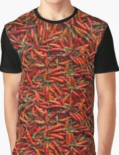 Drying Red Hot Chili Peppers Graphic T-Shirt