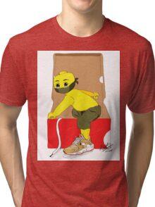 LEGO BOY X OUT OF THE BOX Tri-blend T-Shirt