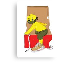 LEGO BOY X OUT OF THE BOX Canvas Print