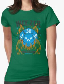 WEEZER  Womens Fitted T-Shirt