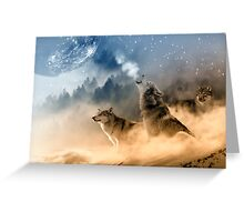 Moonrise Howl Greeting Card