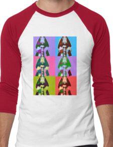 Aleister Crowley Pop Art Men's Baseball ¾ T-Shirt