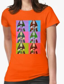 Aleister Crowley Pop Art Womens Fitted T-Shirt
