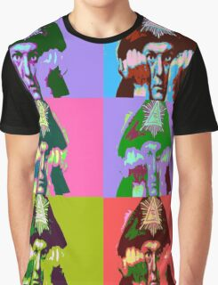 Aleister Crowley Pop Art Graphic T-Shirt