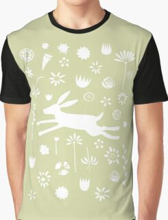 Hare in the Meadow Graphic T-Shirt