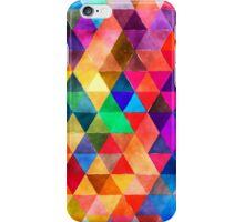 triangle pattern iPhone Case/Skin