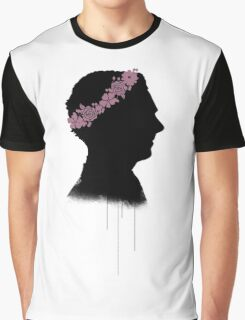 Cumberbatch in a flower crown Graphic T-Shirt