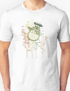 Totoro's flowers Unisex T-Shirt